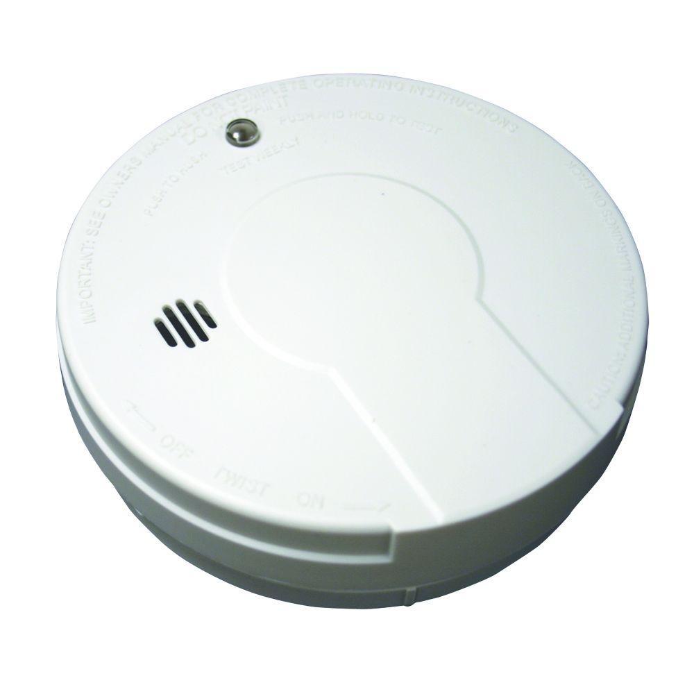 Kidde Battery Operated Smoke Detector With Photoelectic Sensor