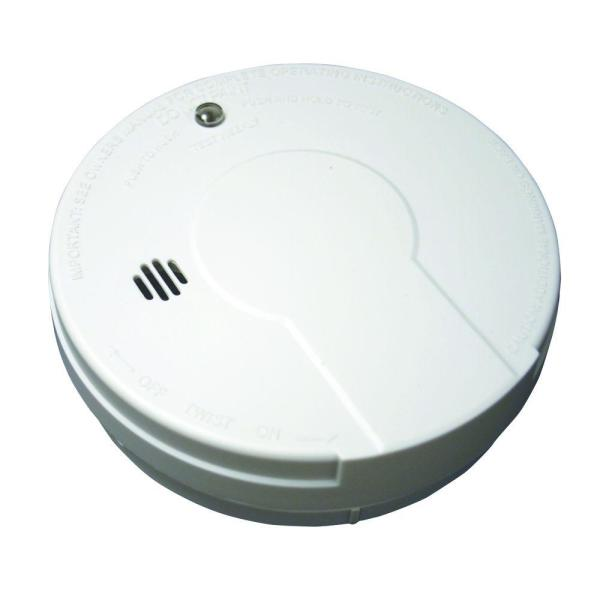 Battery Operated Kitchen Smoke Detector with Photoelectric Sensor