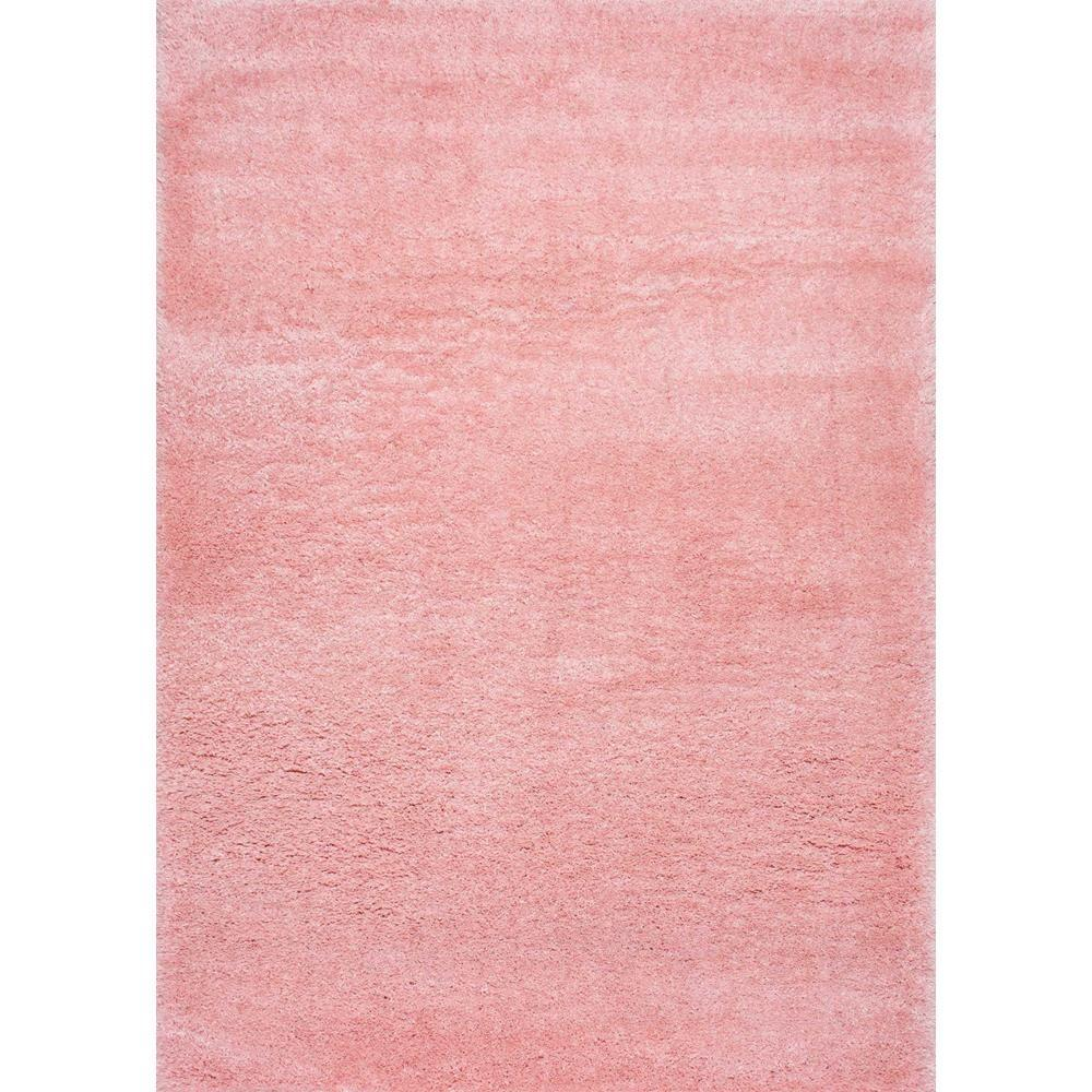 nuLOOM Gynel Cloudy Shag Baby Pink 5 ft. x 8 ft. Area Rug