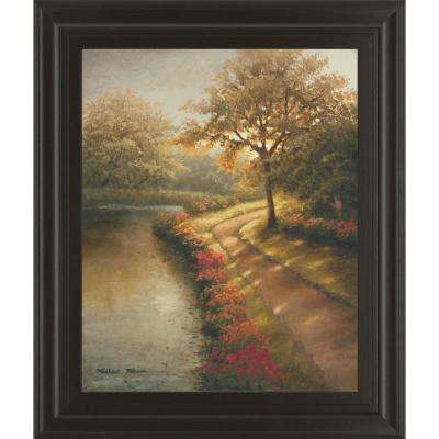 "22 in. x 26 in. ""Morning Light I"" by Michael Marcon Framed Printed Wall Art"