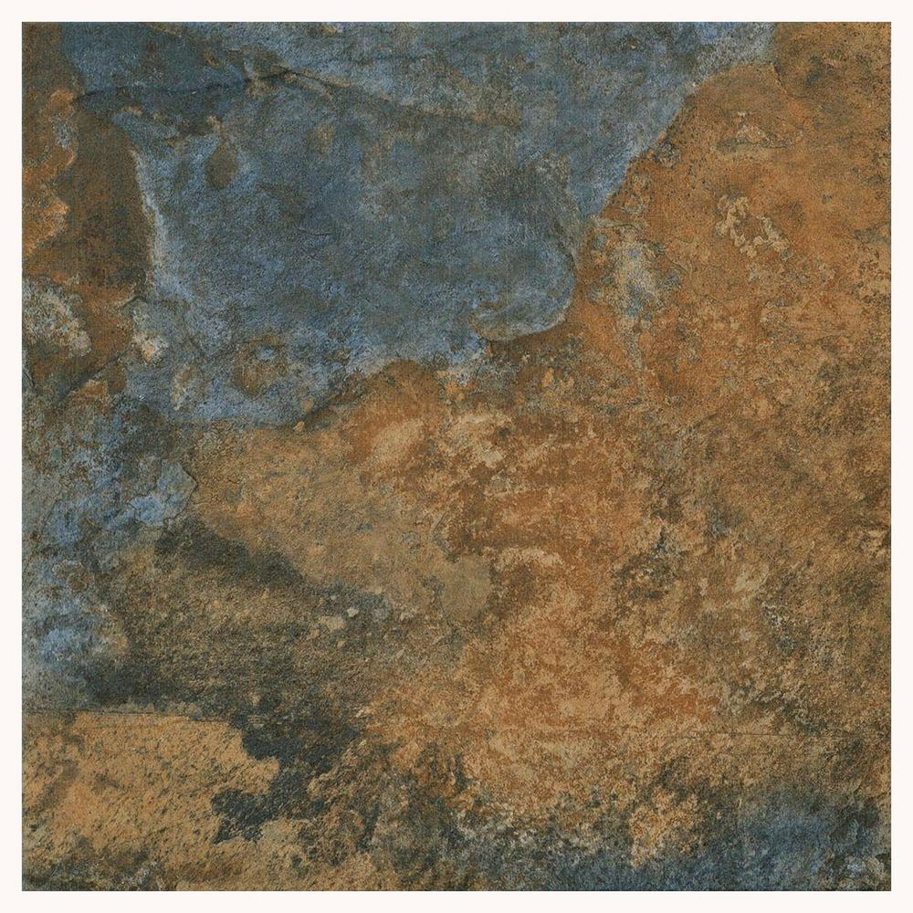 Florida Tile Home Collection Hematite Autumn 12 in. x 12 in. Porcelain Floor and Wall Tile (487.22 sq. ft. / pallet)