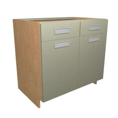 Particle Board - Light Brown - Base - Ready to Assemble Kitchen ...