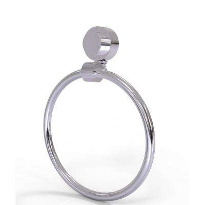 Venus Collection Towel Ring in Polished Chrome