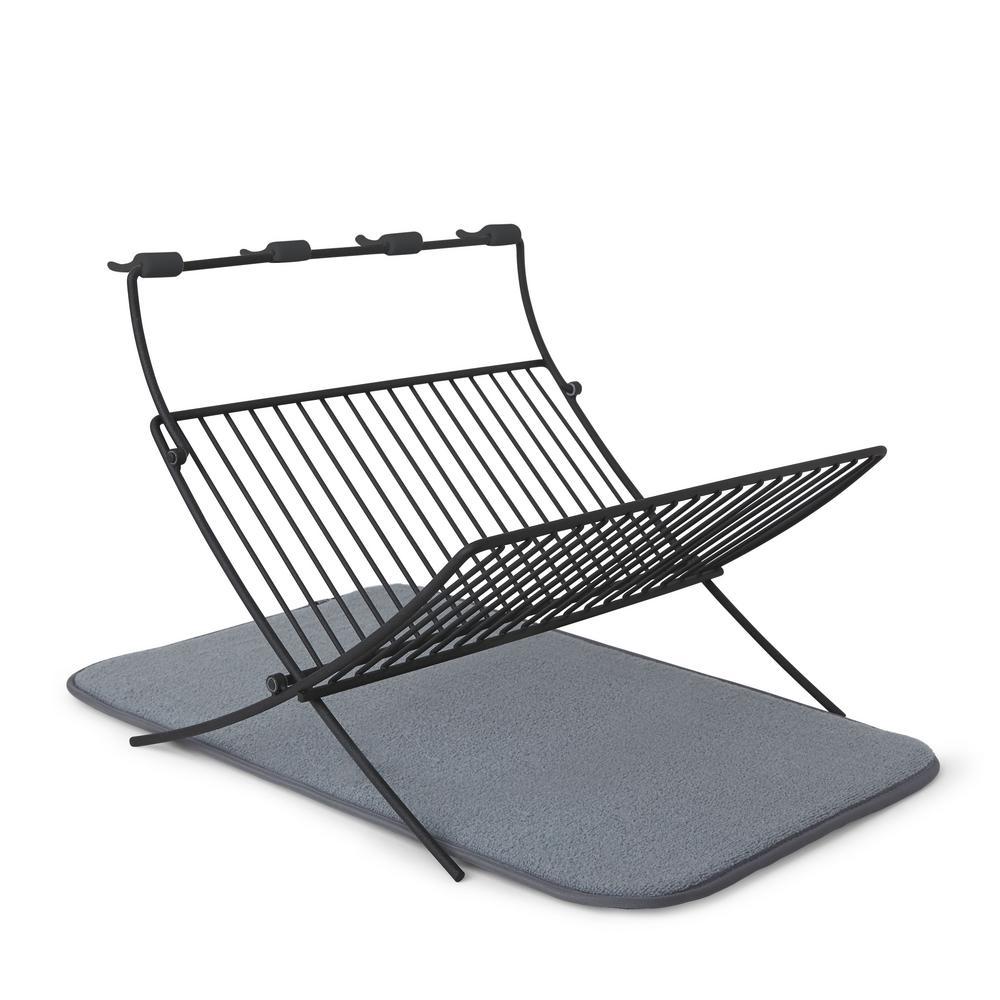 Xdry Charcoal Folding Rack