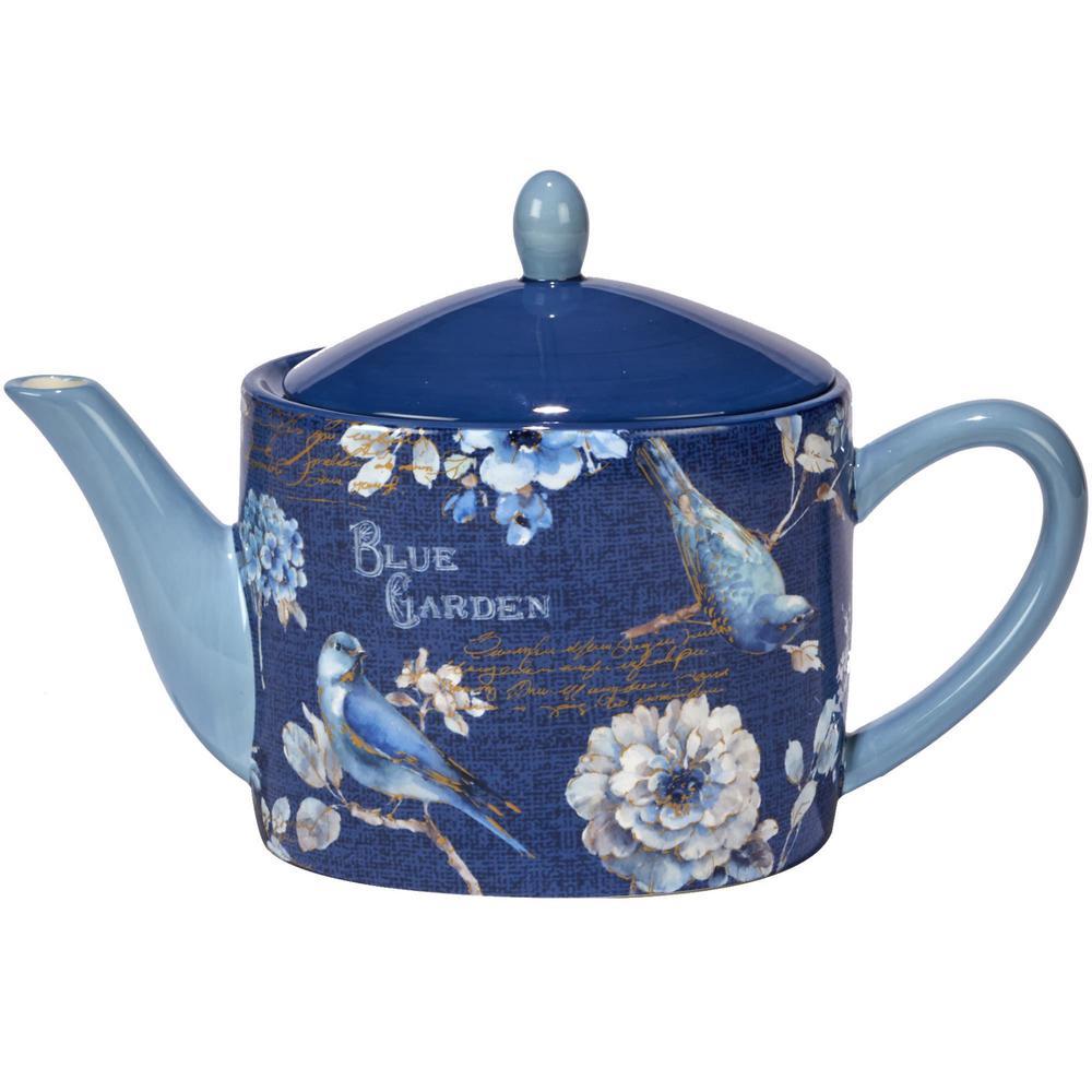 Indigold 36 oz. Multi-Colored Teapot