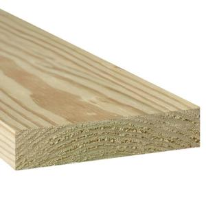 2 in. x 8 in. x 8 ft. #2 Prime Ground Contact Pressure-Treated Lumber
