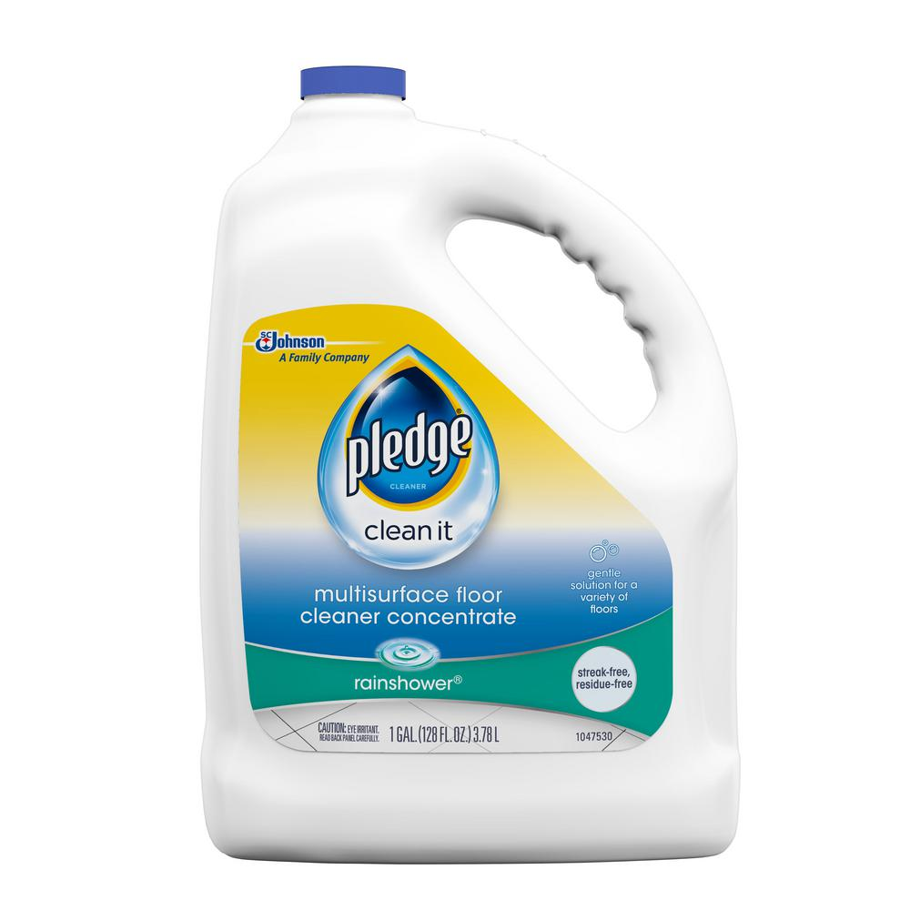 Pledge 128 oz. Multi-Surface Floor Cleaner-690990 - The Home Depot