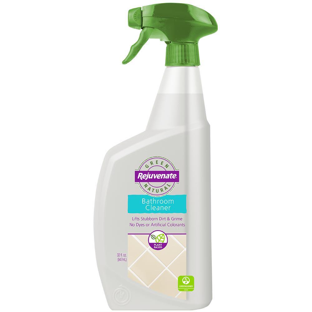 Rejuvenate 32 Oz. Green Natural Bathroom Cleaner-RJNAT32BC