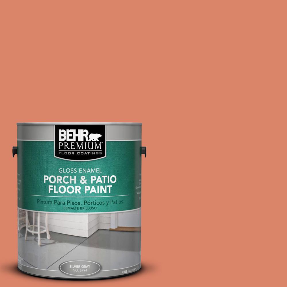 Beau BEHR Premium 1 Gal. #M180 5 King Salmon Gloss Porch And Patio Floor