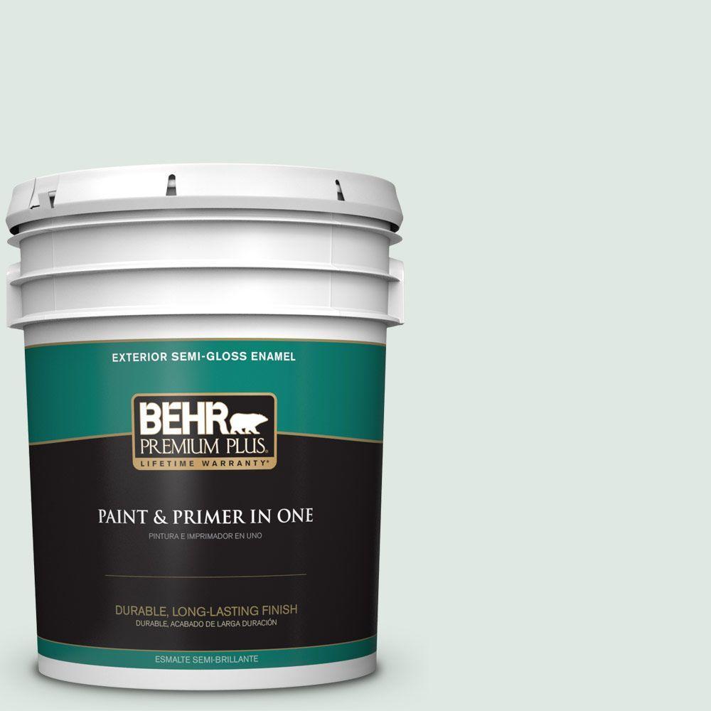 5-gal. #470E-2 Water Mark Semi-Gloss Enamel Exterior Paint