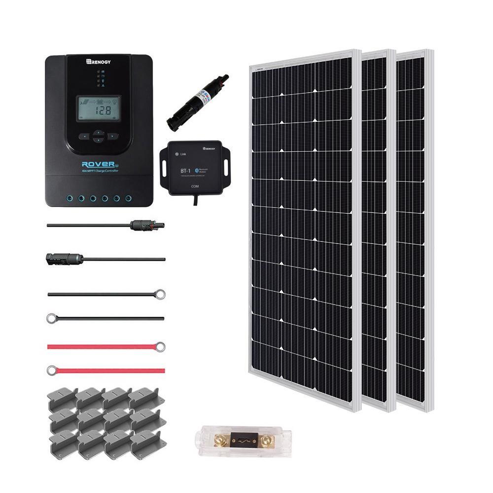 300-Watt 12-Volt Off-Grid Solar Premium Kit