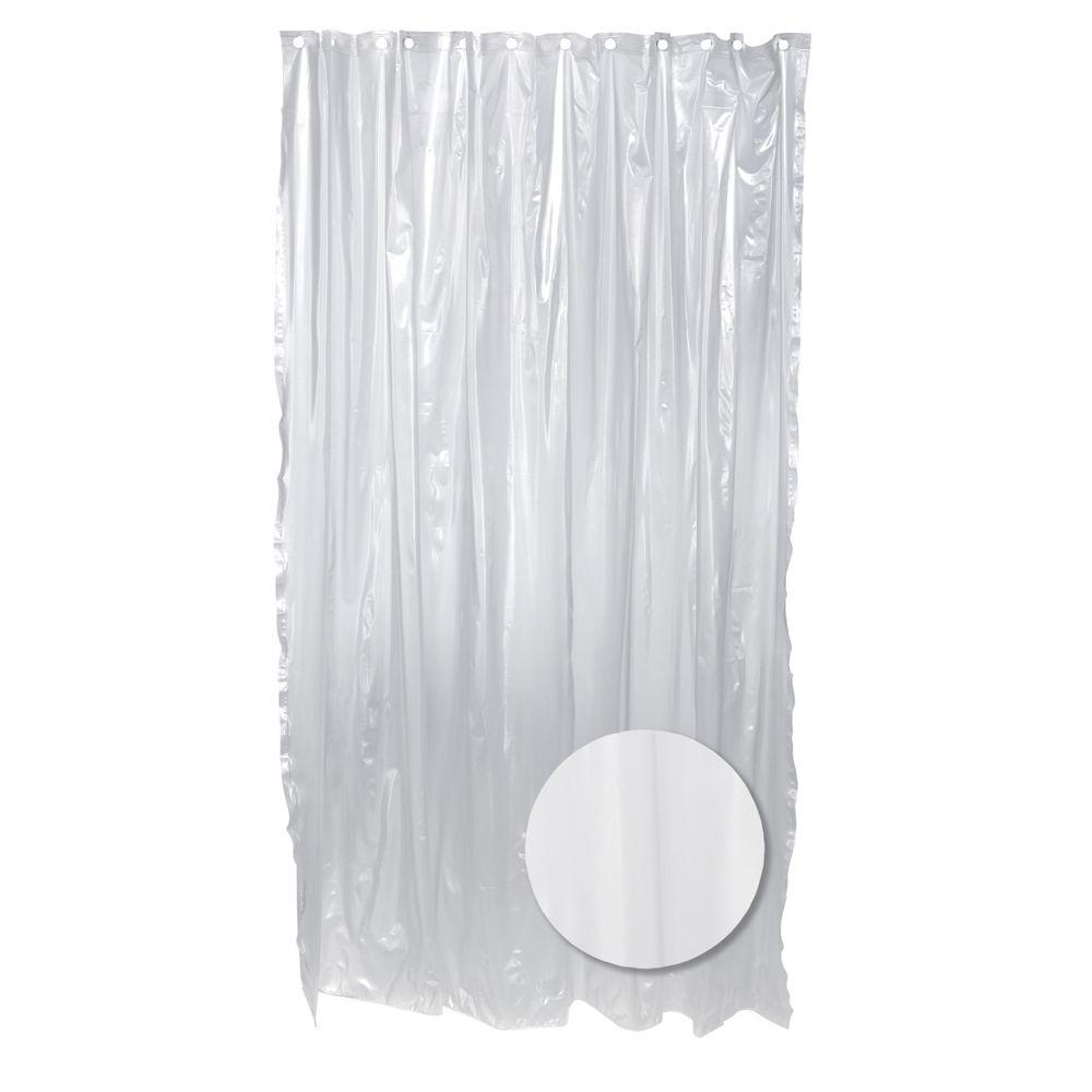 70 in. W x 72 in. H Vinyl Shower Curtain Liner