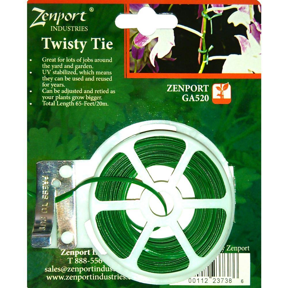 Garden Twisty Plant Tie, 65 ft.
