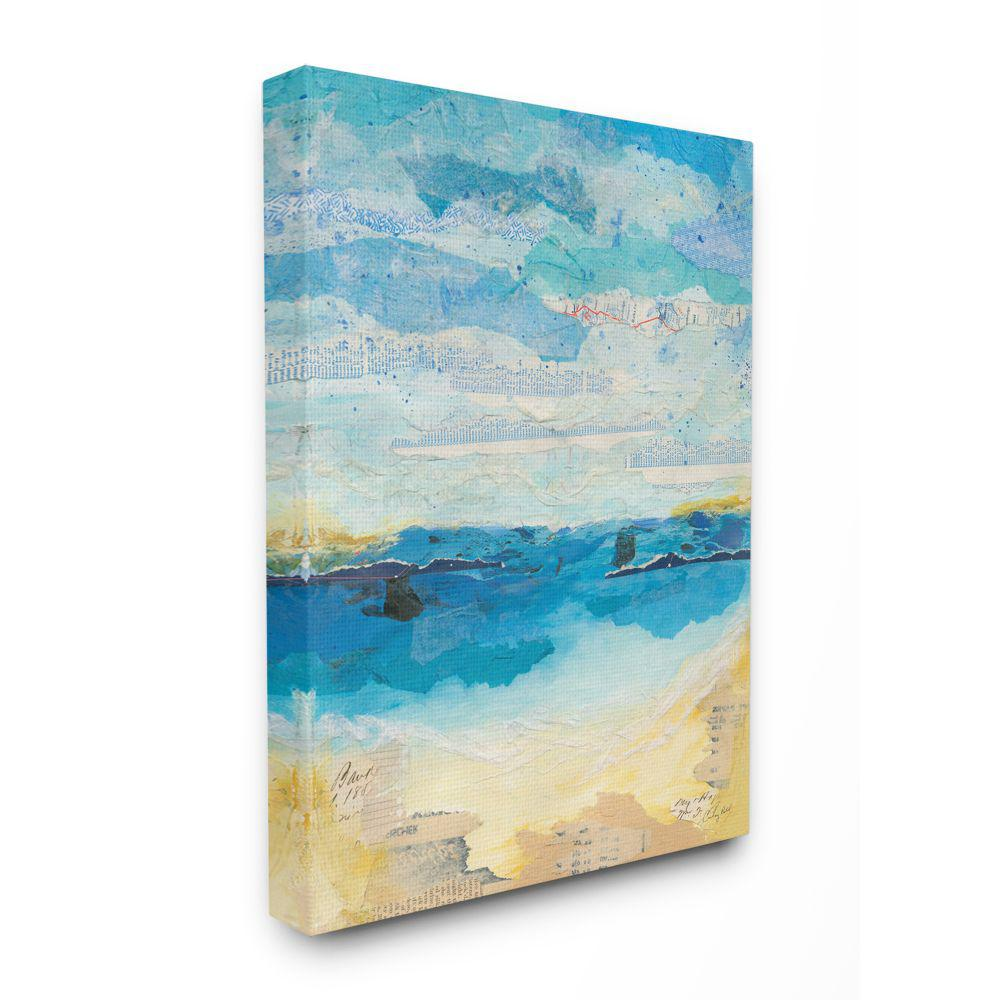 at The Beach II Canvas Artwork 20 x 24 Global Gallery Courtney Prahl