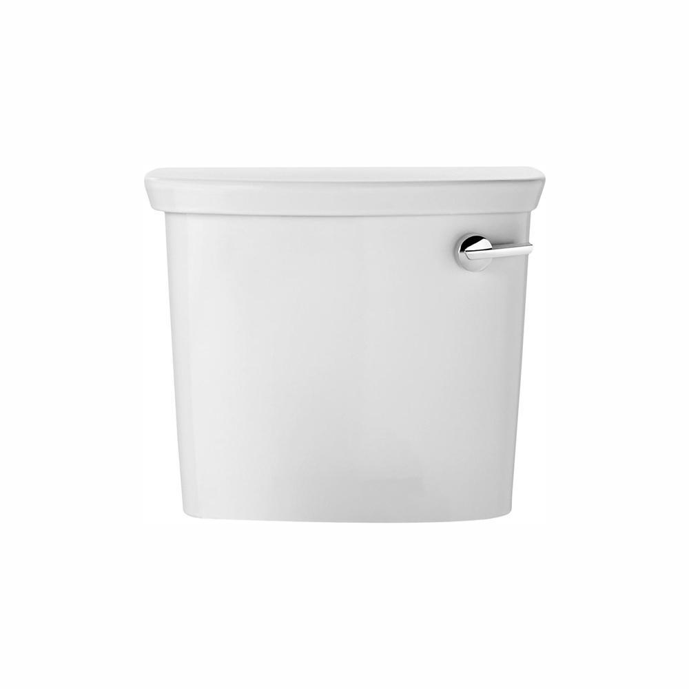 American Standard Vormax 1.28/1.6 GPF Single Flush Toilet Tank Only in White