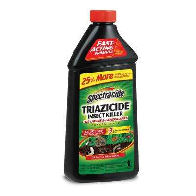 40 oz. Triazicide Insect Killer for Lawns and Landscapes Concentrate