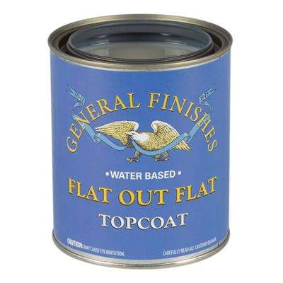 1 gal. Flat Out Flat Acrylic Interior Topcoat