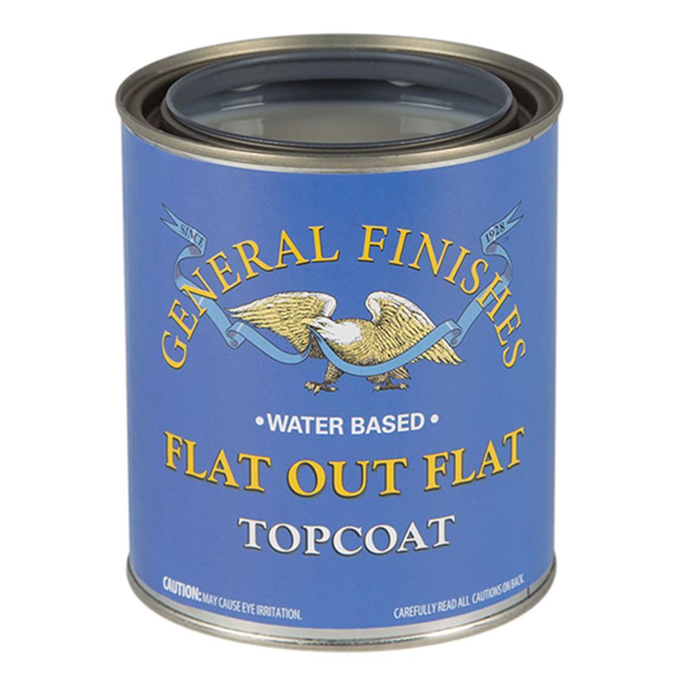1 gal. Flat Out Flat Acrylic Interior Topcoat