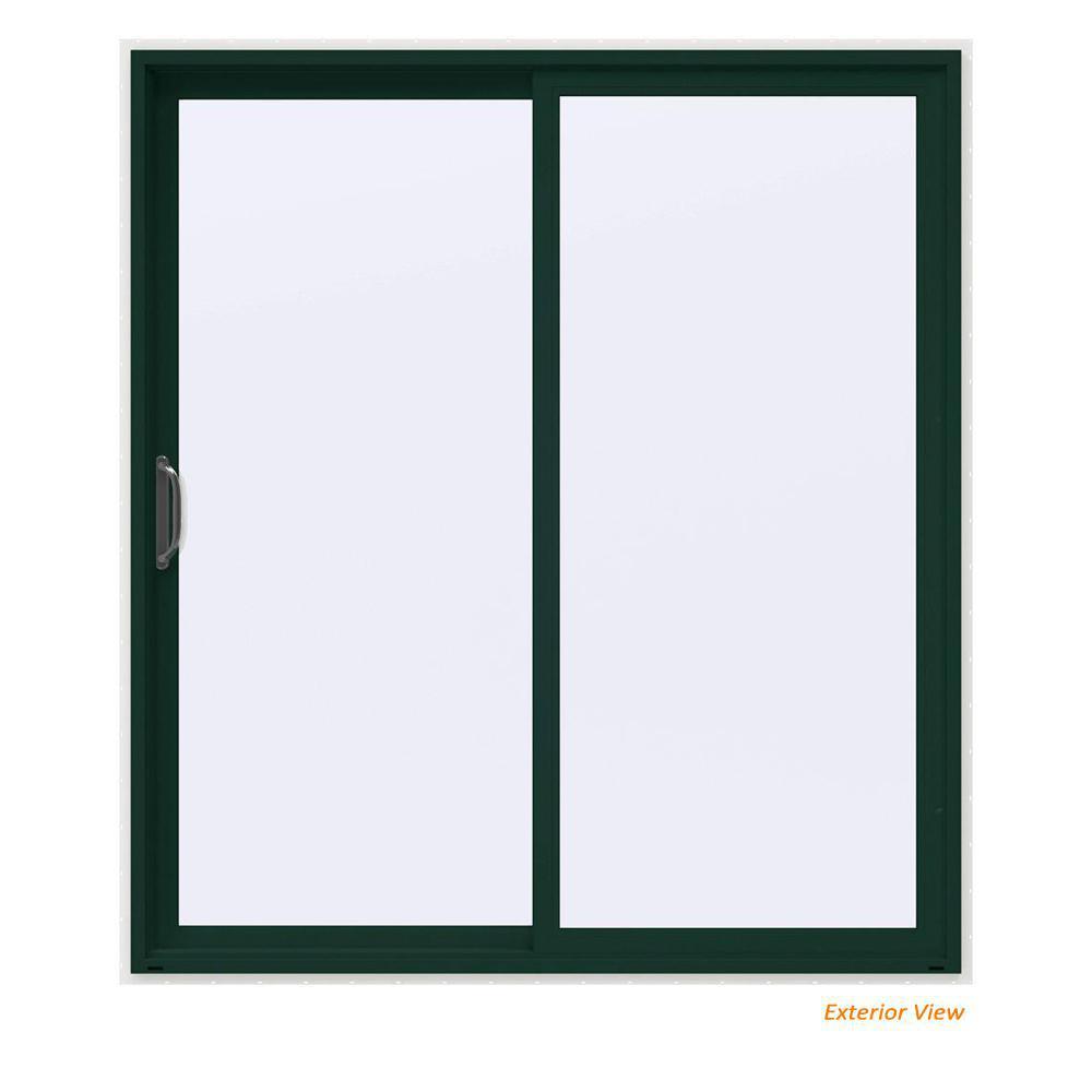 Milgard Windows Doors 72 In X 80 In Tuscany Left Hand Vinyl