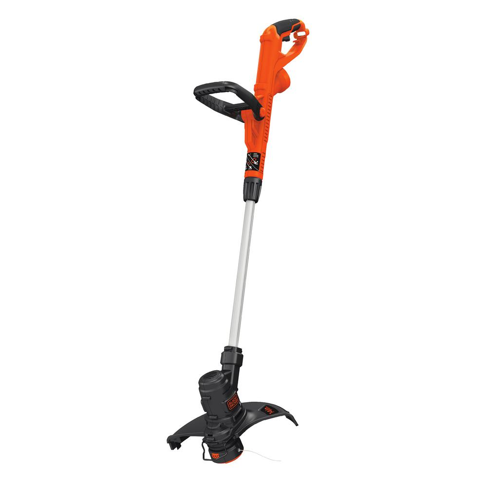 decker string trimmer electric amp depot trimmers homedepot