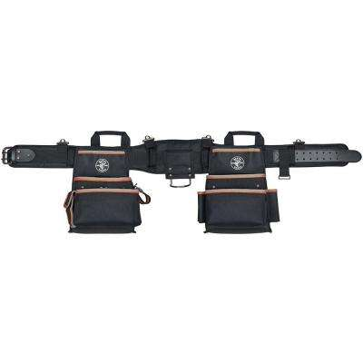 Medium Tradesman Pro Black Nylon Electrician's Tool Belt