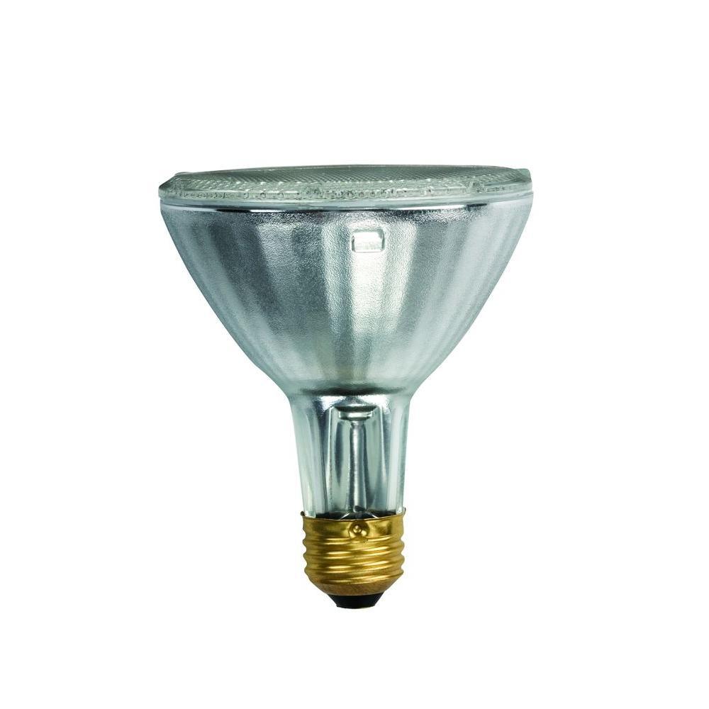 Philips 50-Watt Halogen PAR30L Soft White (2900K) Flood Light Bulb