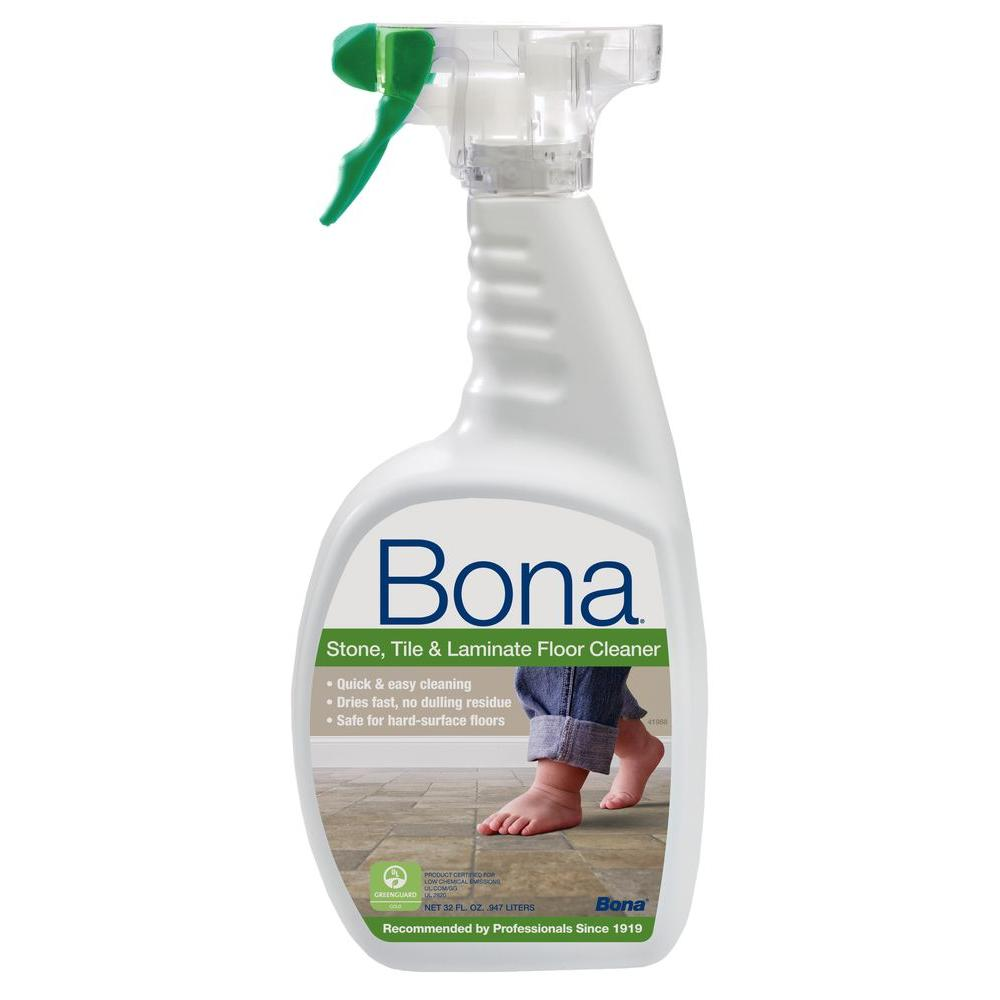 Bona 32 oz. Stone, Tile and Laminate Cleaner-WM700051184 - The Home ...