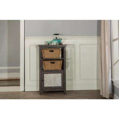 Tuscan Retreat Smoke Basket Stand with 2-Baskets