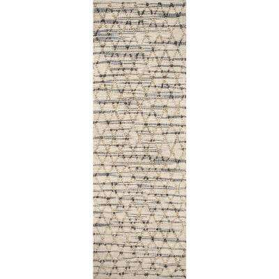 Renee Natural 2 ft. 6 in. x 8 ft. Runner Rug