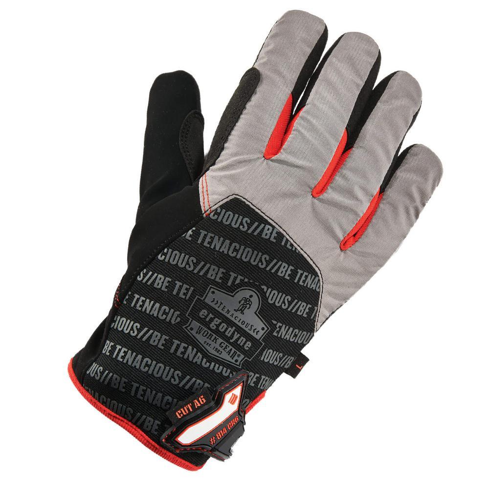 ProFlex Medium Black Thermal Utility and Cut Resistance Gloves