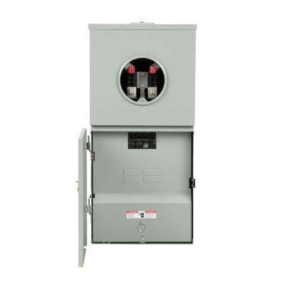 200 Amp 4-Space 8-Circuit Meter Combo Load Center