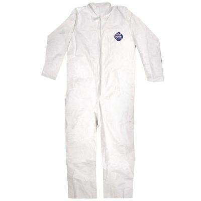 No Elastic Disposable Coverall - Large