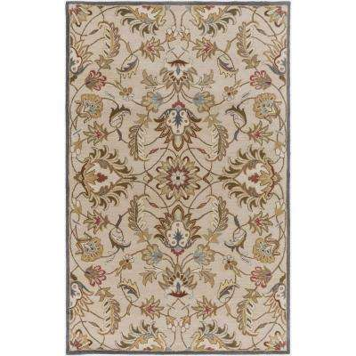 Galba Beige 6 ft. x 9 ft. Indoor Area Rug