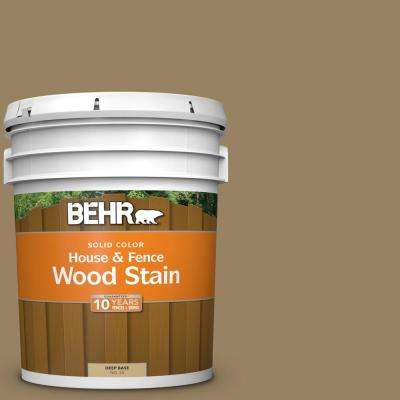 5 gal. #SC-121 Sandal Solid Color House and Fence Exterior Wood Stain
