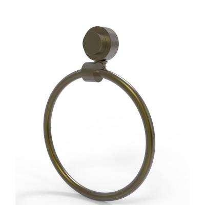 Venus Collection Towel Ring in Antique Brass