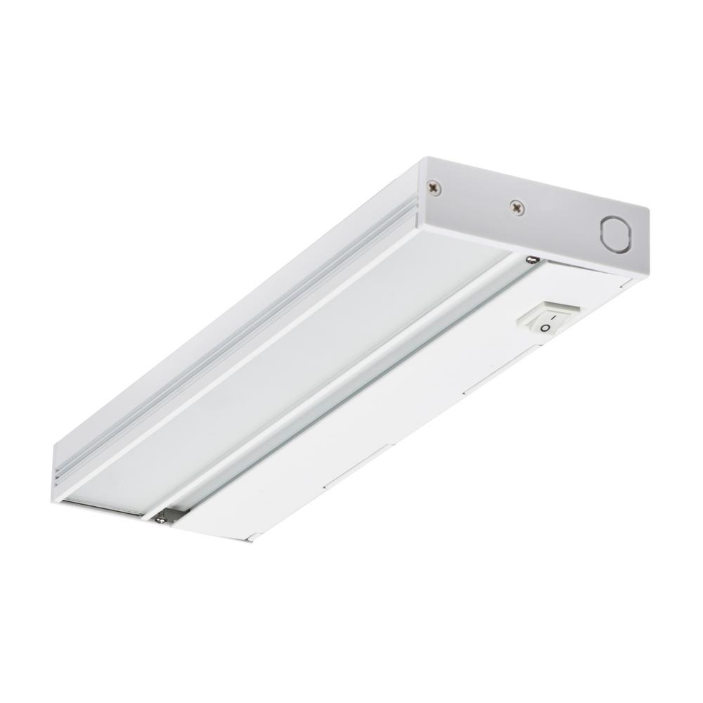 Led White Dimmable Under Cabinet Light For Hardwire Installation