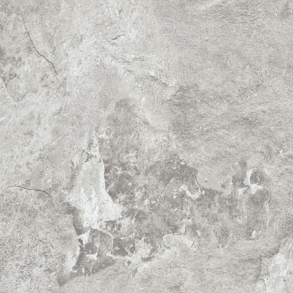 TrafficMASTER Take Home Sample - White Travertine Peel and Stick Vinyl Tile Flooring - 5 in. x 7 in.