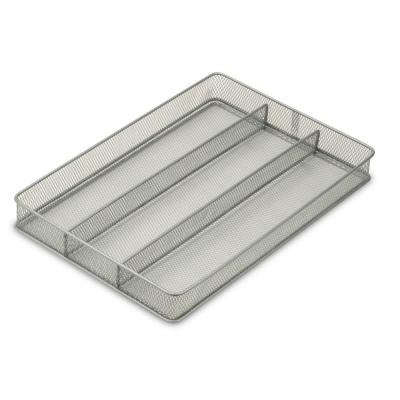 2 in. x 11 in. x 16 in. Steel Mesh Drawer Organizer Tray