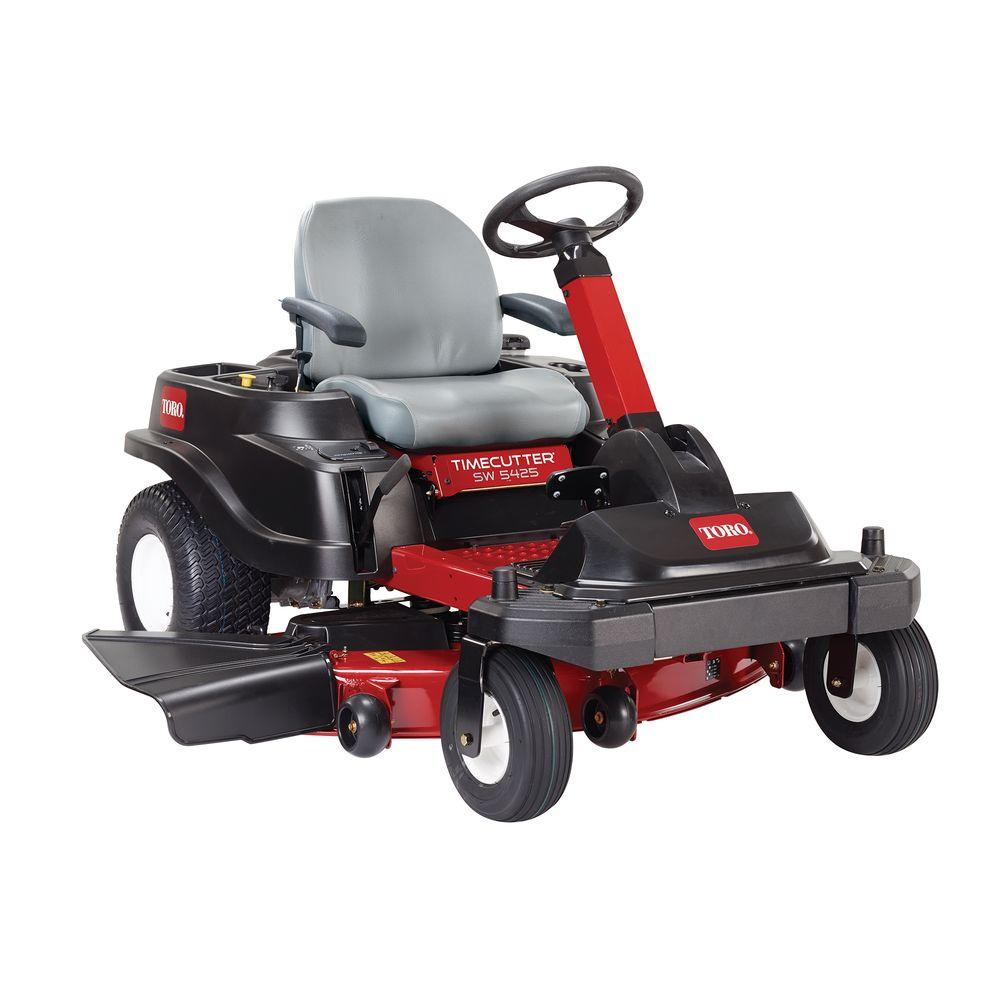 Toro TimeCutter SW5425 54 in. 24.5 HP V-Twin Zero-Turn Riding Mower with Smart Park