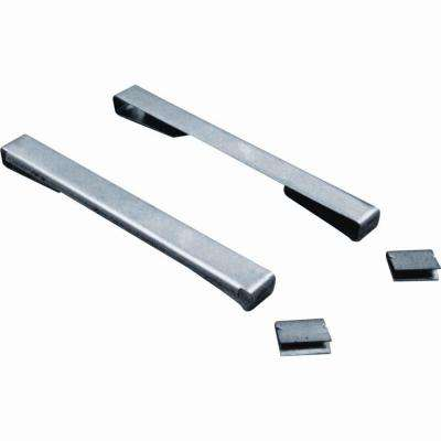 Stainless-Steel Louver Window Security Clips (10-Pack)