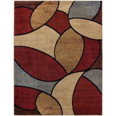 Pasha Collection Multi 8 ft. x 10 ft. Area Rug