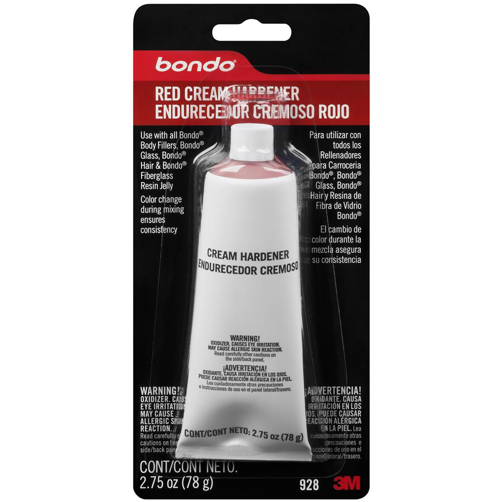 Bondo 2.75 oz. Red Rouge Cream Hardener