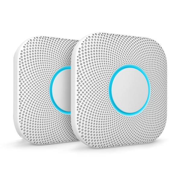 Nest Protect Battery Smoke and Carbon Monoxide Alarm (2-Pack)