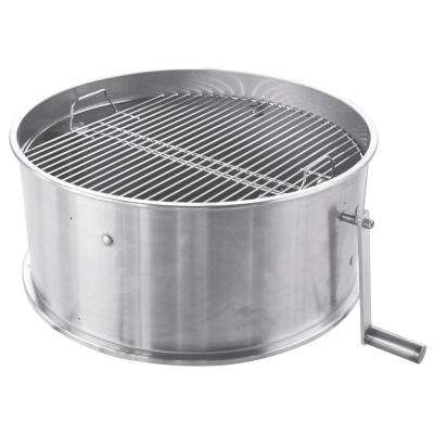 Caliente Argentine/Tuscan Style Grill Kit - Universal for 22.5 in. Weber-Style Grill