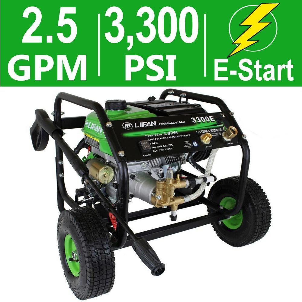 Pressure Storm Series 3,300 psi 2.5 GPM AR Axial Cam Pump