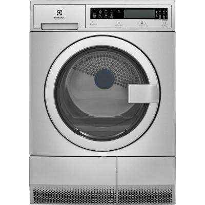 IQ-Touch 24 in. 4.0 cu. ft. Electric Dryer in Stainless Steel
