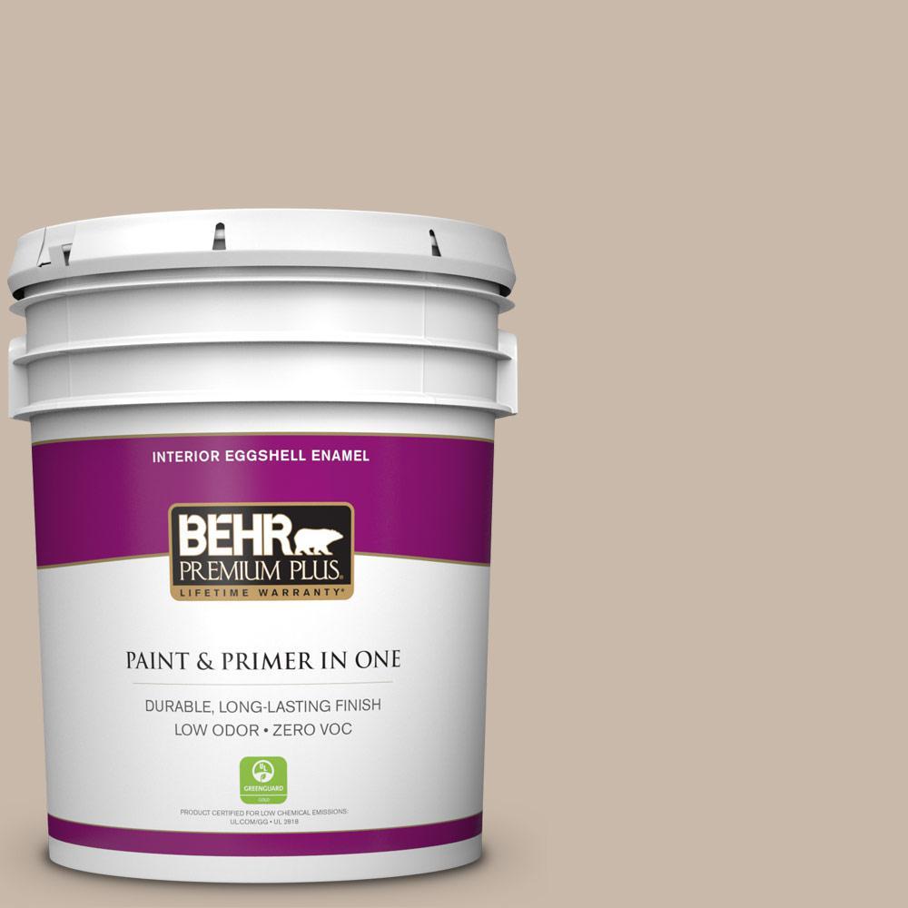 BEHR Premium Plus 5-gal. #N230-3 Armadillo Eggshell Enamel Interior Paint
