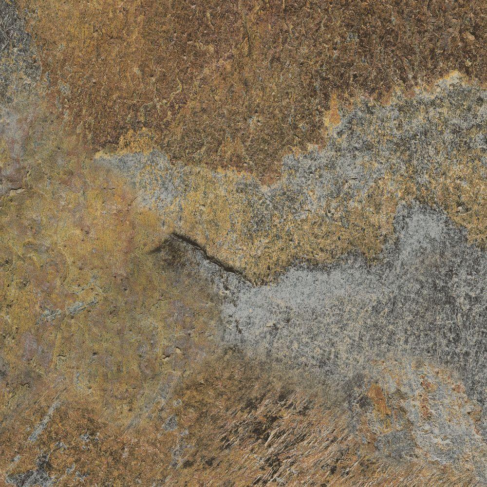 TrafficMASTER Premium 12 in. x 12 in. Copper Slate Vinyl Tile (30 sq. ft. / case)