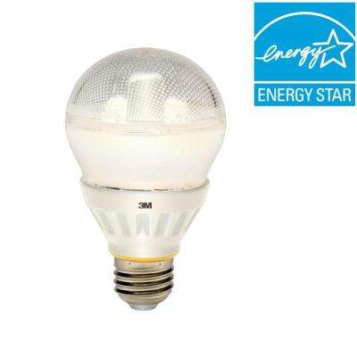 40W Equivalent Soft White A19 Dimmable Omni Directional LED Light Bulb
