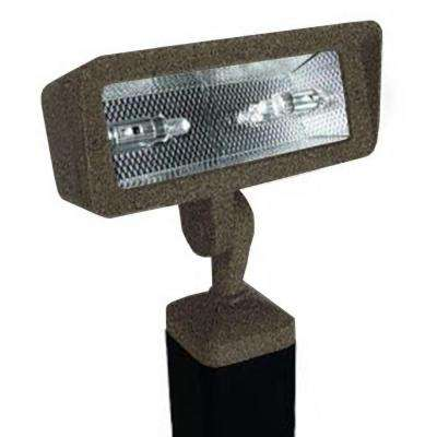 Centennial 1-Light Bronze Textured Outdoor LED Directional Light